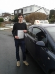 Alex Trout passed with Freedom Driver Training